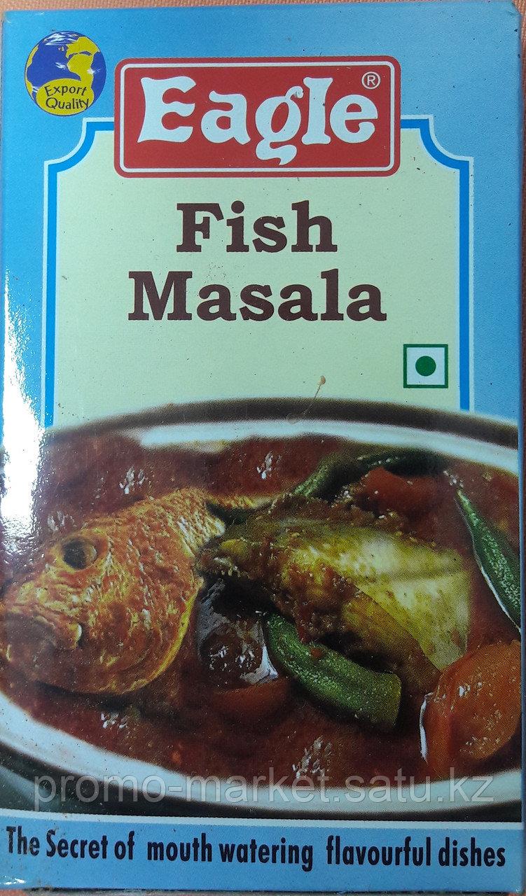 9 Eaqle FISH MASSALA Спец.смесь молотый для Рыбы 100г.
