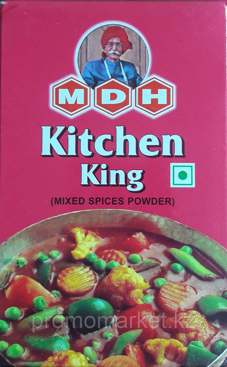 11 MDH KITCEN KING (Mihed spices powder) MASSALA Спец.смесь молотый 100г
