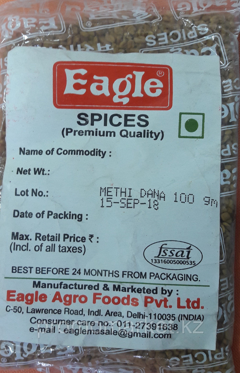 45 Eagle METHI DANNA Семена пажитника сенного 100г.