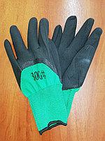 Перчатки нейлоновые с 2-м нитриловым покрытием