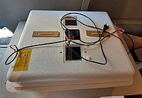 Инкубатор «Несушка» на 104 яйца, Автоматический переворот, цифровой терморегулятор, 12В, с вентилятором и влаж