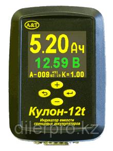 Кулон-12t - тестер / индикатор емкости свинцовых аккумуляторов