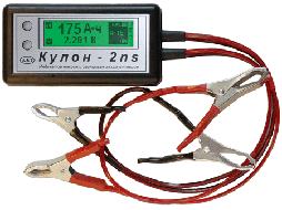 Кулон-2ns – тестер / индикатор емкости промышленных свинцовых аккумуляторов