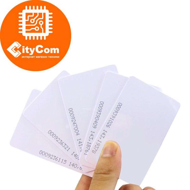 RFID бесконтактная карта стандарта MiFare, 13.56 MHz Арт.3442