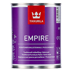 EMPIRE (Эмпире)  – алкидная краска для мебели.  База C 2,7 л