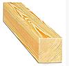 Строганный брус из лиственницы 45х95х5100