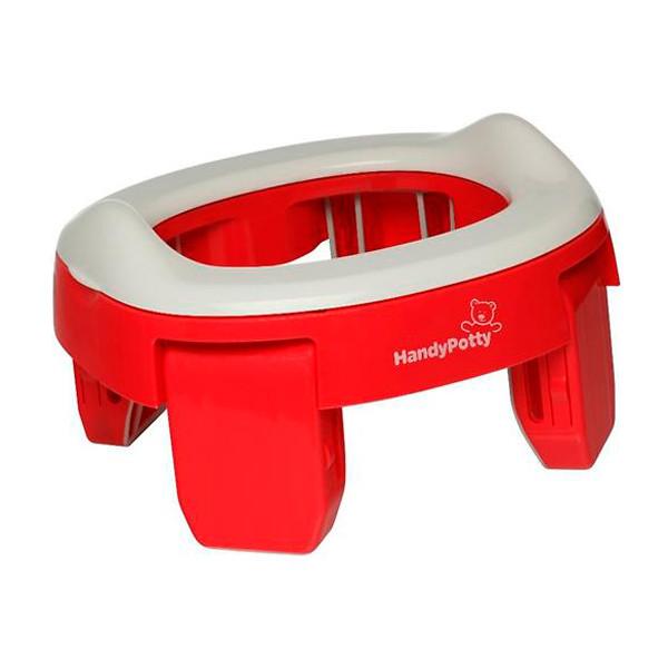 Roxy Kids Горшок дорожный и насадка на унитаз HandyPotty Красный