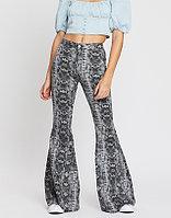FREE PEOPLE Женские брюки джинсы расклешенные 2000000386263