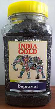 Чай индийский черный крупнолистовой «Бергамот»