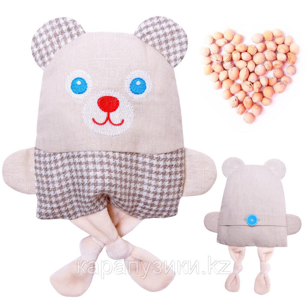 Игрушки с вишнёвыми косточками мишка