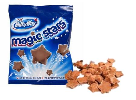 Шоколадные конфеты MilkyWay Magic Stars 100 гр (12 шт в упаковке)