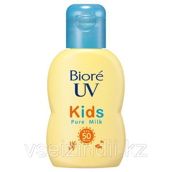 Молочко солнцезащитное для детей с физическими фильтрами, SPF 50, Biore UV, 70 мл
