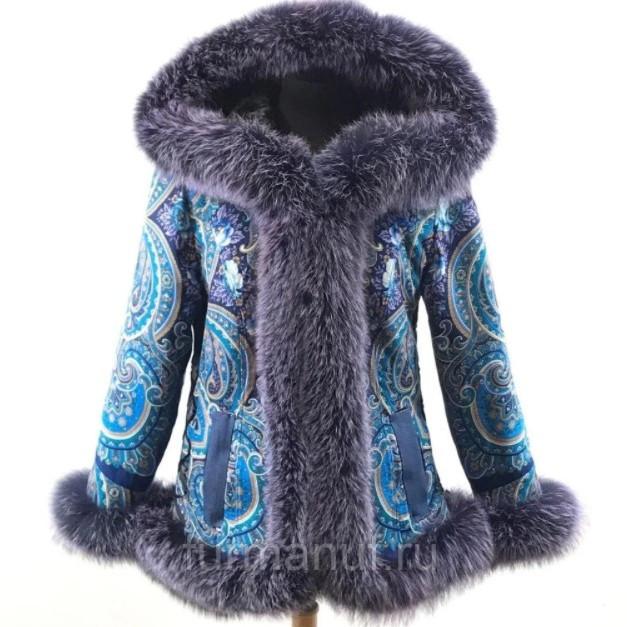 Дизайнерская женская куртка
