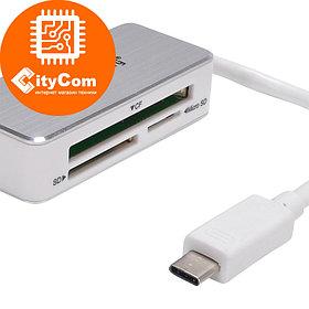 Кард-ридер USB Type-C Card Reader BYL-1709 Арт.6165