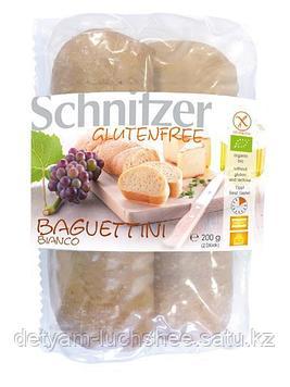 Schnitzer Мини багет белый без глютена 200г.