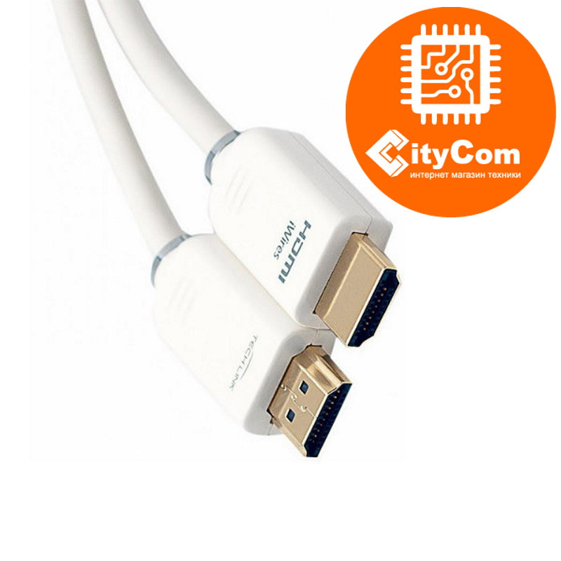 HDMI cable 10m, Right Cable, white Арт.5065