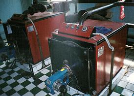 Газовый котел КВЖ-2,5 площадь м² 2500