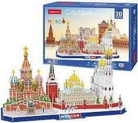 CubicFun Достопримечательности Москвы, 204 элемента