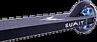 Оригинальный трюковый самокат Longway Summit black neochrome. Гарантия на раму., фото 5