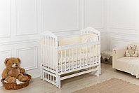 Кроватка детская Incanto Pali Белая с маятником