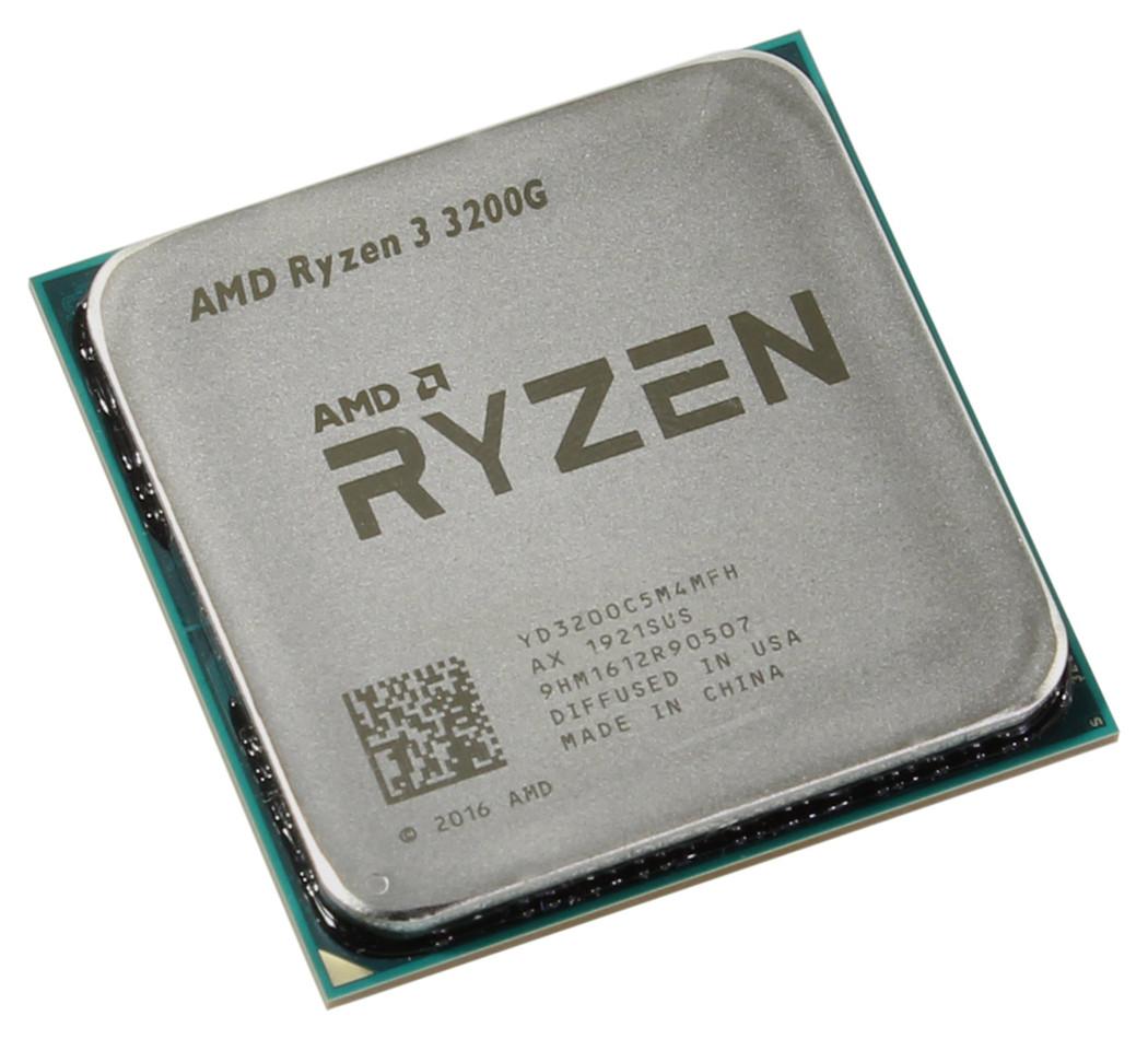 Процессор AMD Ryzen 3 3200G 3,6GHz
