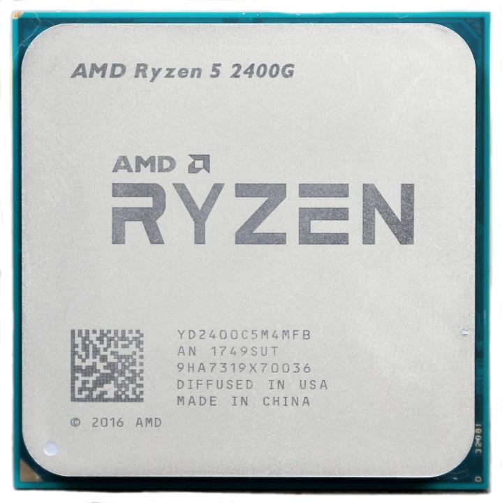 Процессор AMD Ryzen 5 2400G 3,6GHz