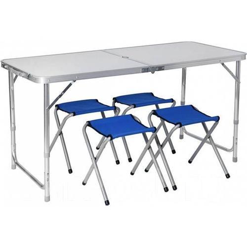 Набор мебели ТОНАР HELIOS (стол большой + 4 стула)