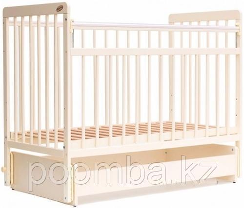 Кровать детская - манеж Евро стиль  Слоновая кость