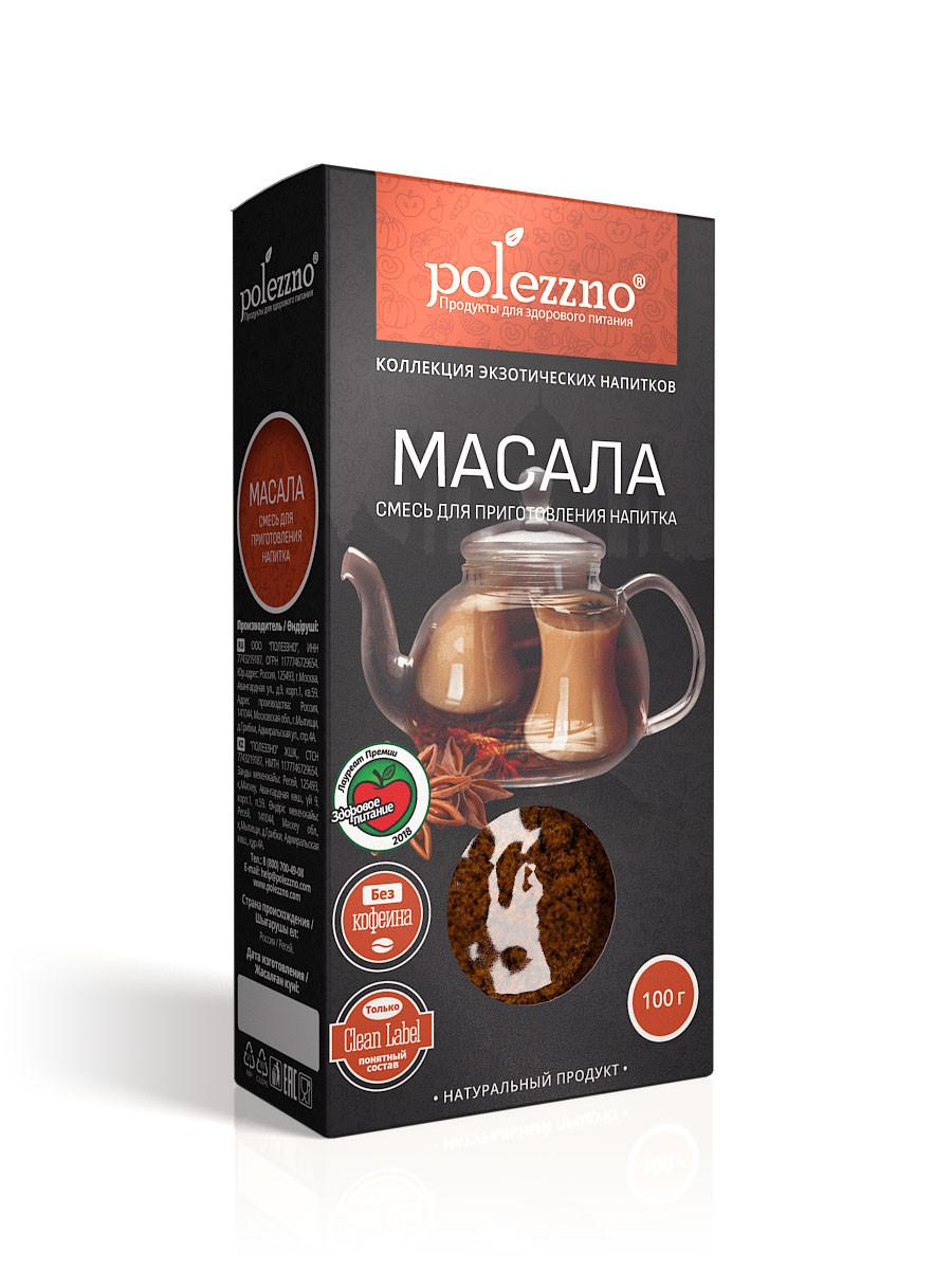 Масала чай (100 гр) Polezzno - фото 1