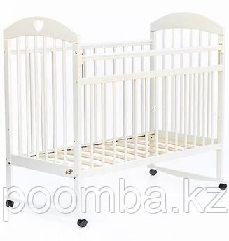 Кровать детская -манеж Bambini Комфорт Слоновая кость