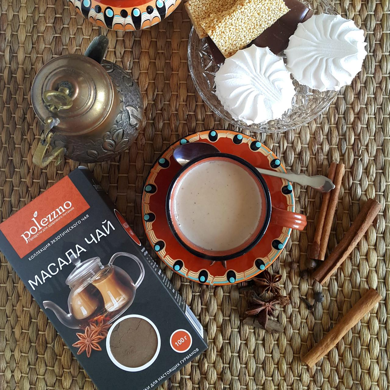 Масала чай (100 гр) Polezzno - фото 3