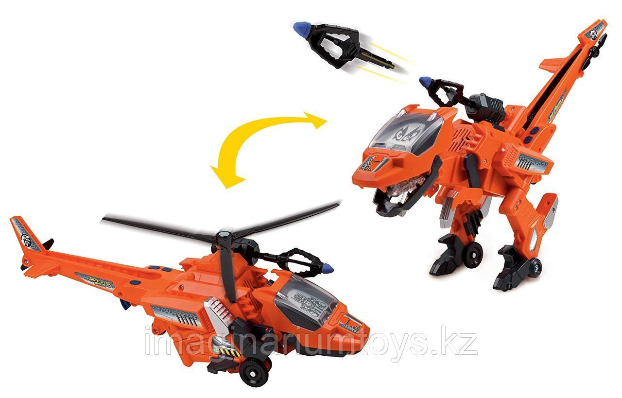 Игрушка динозавр трансформер Велоцираптор
