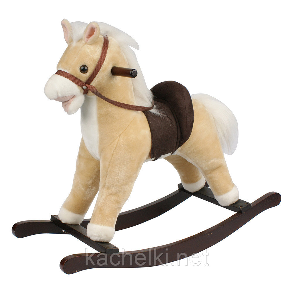 "Качалка-лошадка ""Pituso"", бежевая"