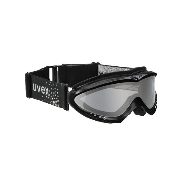 ЛЫЖНЫЕ ОЧКИ UVEX CORUS CRYSTAL-Black-,,Made in Germany''