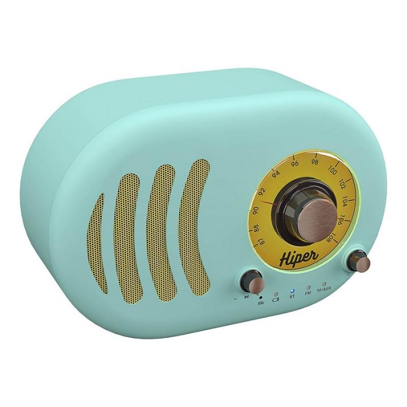 Колонка беспроводная RETRO S, цвет голубой , Голубой, -, 36717 22 - фото 1