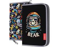 Пенал-книжка c наполнением Space Bear 135x205x30мм