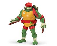 TMNT: Rise of the Turtles. Фигурка Раф с панцирем для хранения оружия 27 см.