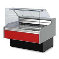 Витрина холодильная Golfstream Двина QS 180 ВС, красная