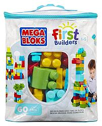 Mattel Mega Bloks Мега Блокс DCH55 Первостроители 60шт.Голубой