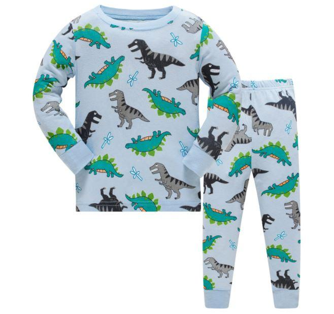Пижама с динозаврами