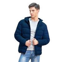 Куртка мужская, размер 48, цвет тёмно-синий