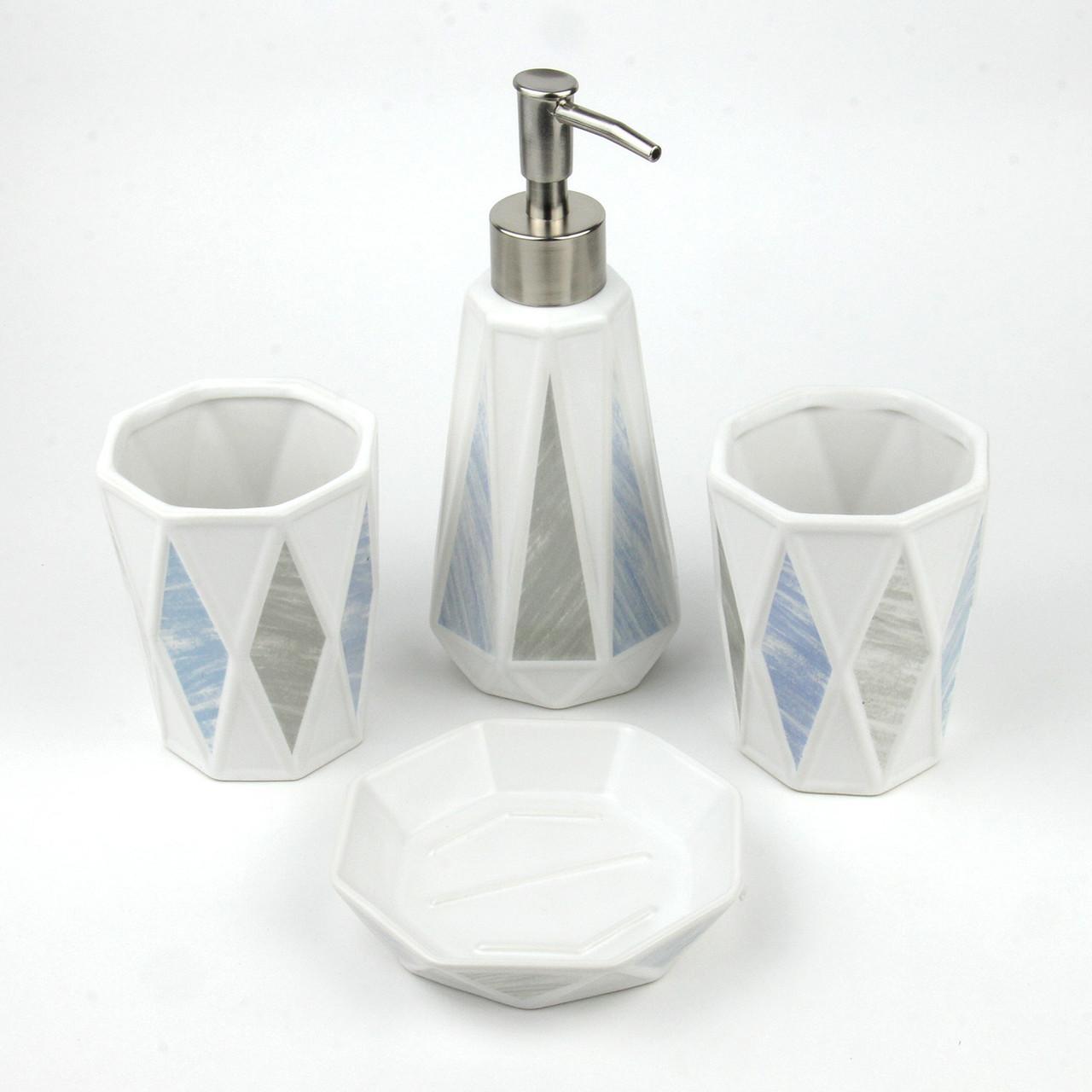 Керамический набор для ванной комнаты GL9018