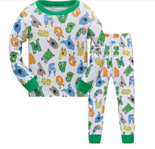 Пижама с буквами