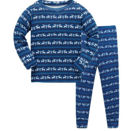Пижама с оленями на 4 года