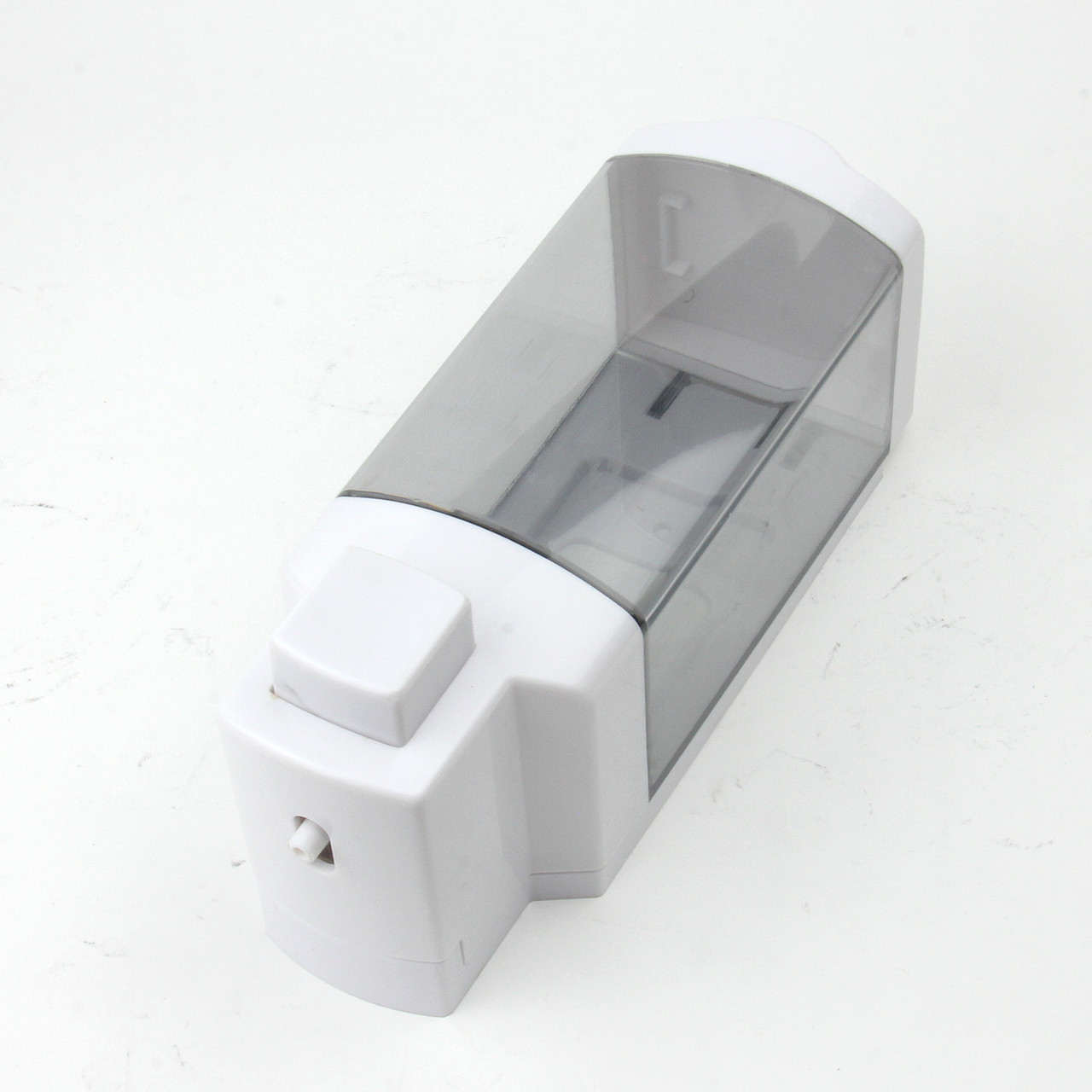 Дозатор для мыла (белый-прозрачный)