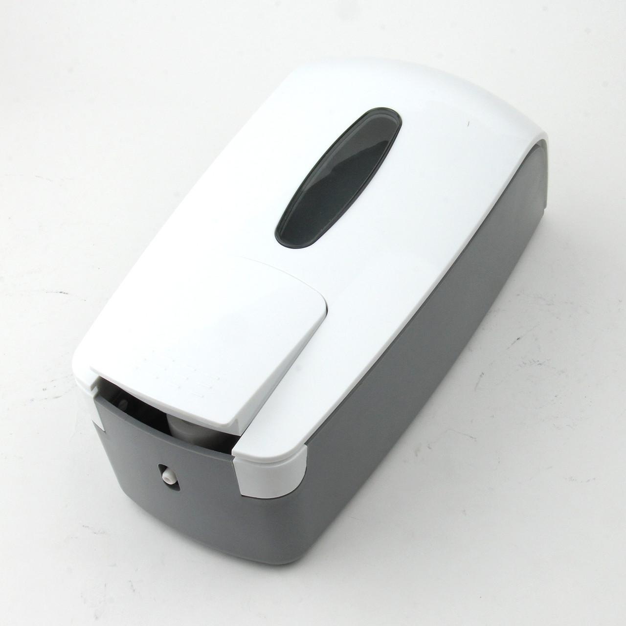 Дозатор ZY-R03 для жидкого мыла (белый-прозрачный)