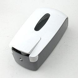Дозатор для мыла ZY-R03 (белый-прозрачный)