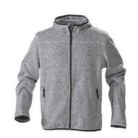 Куртка флисовая мужская Richmond, размер S, цвет серый меланж