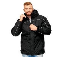 Куртка мужская, размер 56, цвет чёрный