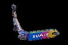 Оригинальный трюковый самокат Longway Summit full neochrome. Гарантия на раму. Рассрочка. Kaspi RED, фото 3